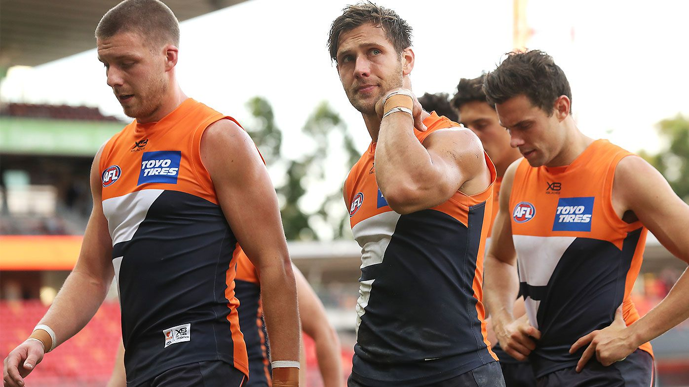 Leon Cameron concedes GWS Giants a 'rung off' top sides after loss to Brisbane Lions
