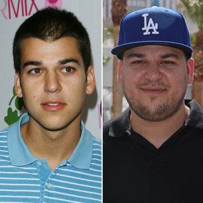 Keeping Up With The Kardashians. cast, then and now, gallery, Rob Kardashian