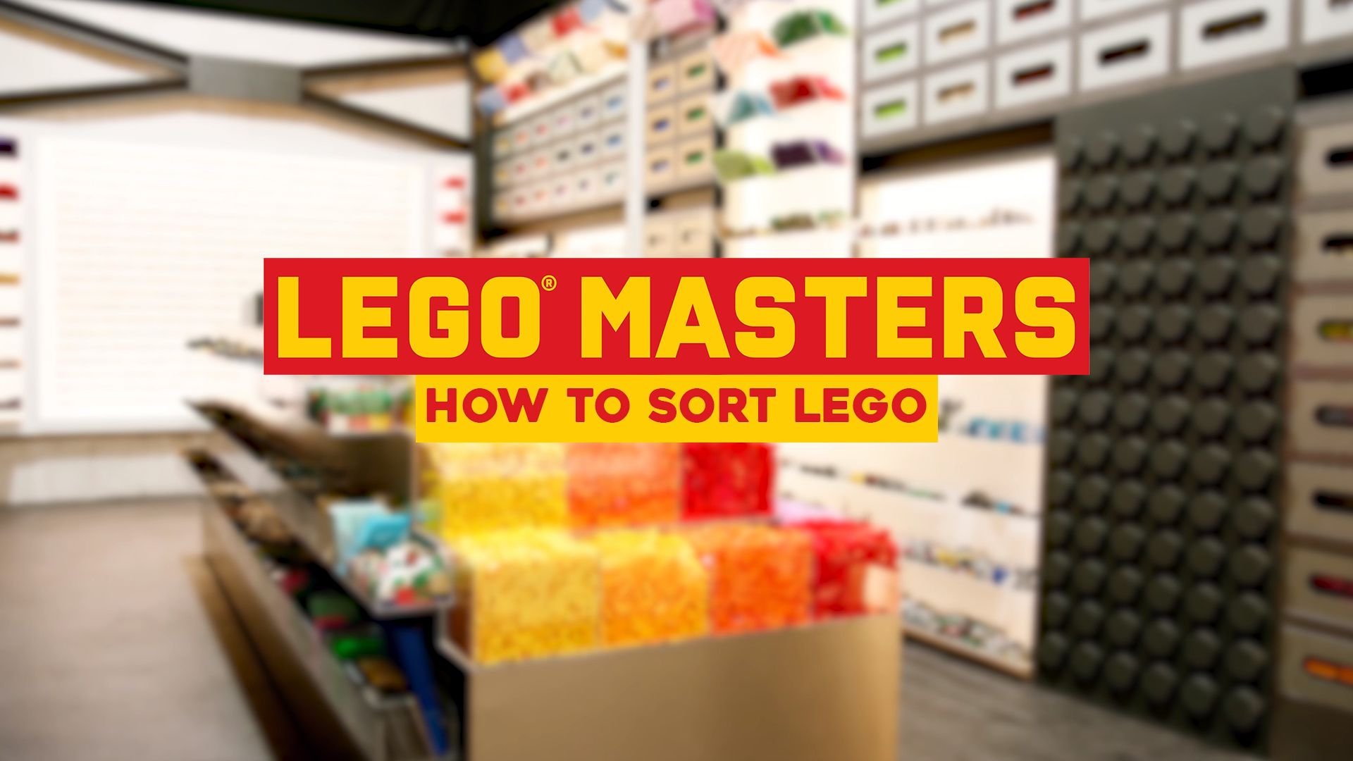 Tips, Tricks and Hacks: How to sort LEGO: Lego Masters Season 1, Short Video