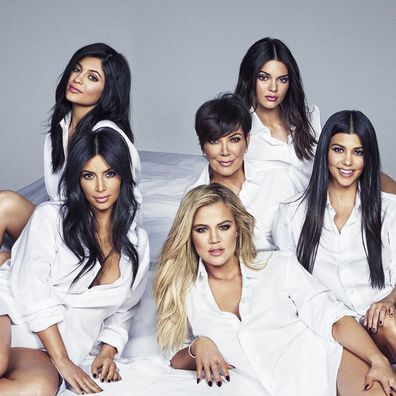 Kris Jenner and her five daughters