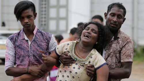 Most of the victims were Sri Lankans.