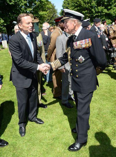 Tony Abbott & Prince Philip