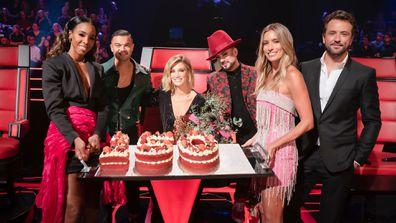 Delta Goodrem celebrates 150 episodes of The Voice