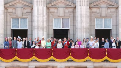 Trooping the Colour 2019 balcony shot Flora Alexandra Ogilvy 3