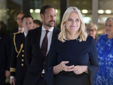 Norsk kronprinsesse Mette Merid