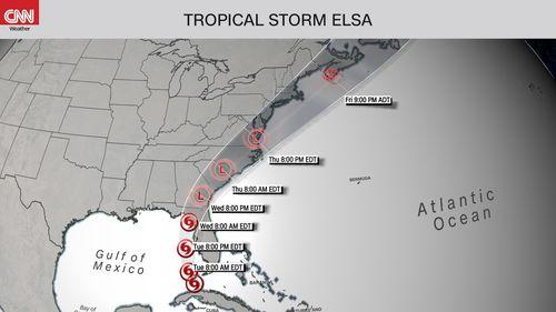 Hurricane Elsa
