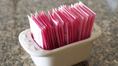 <strong>Swap artificial sweeteners...</strong>