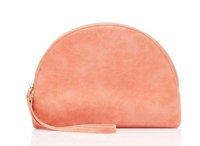 """<a href=""""http://www.sportsgirl.com.au/accessories/bags/danika-crescent-clutch-tangelo-all"""" target=""""_blank"""">Sportsgirl Danika Crescent Clutch, $14.</a>"""