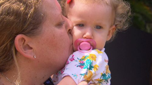 Lisa Easton was shocked that it has taken the child care centre an hour to contact her after the incident. (9NEWS)