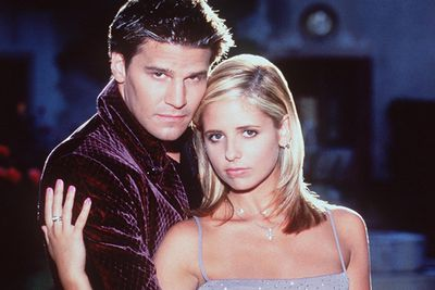 The vampire and his vampire slayer - Buffy and Angel's forbidden love was so much cooler than Twilight ever will be.