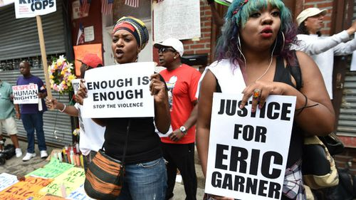 Eric Garner died during an arrest in 2014.