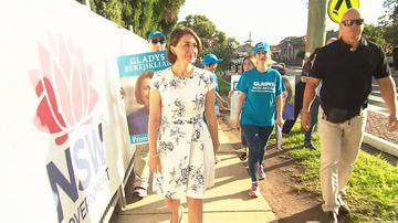 190323 NSW election Gladys Berejiklian voting polls open