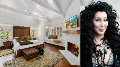 Cher lists Beverly Hills 'country home' bursting with character