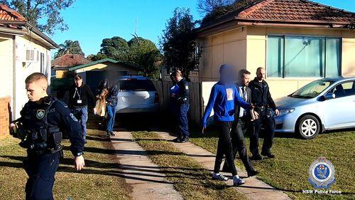 190709 Sydney teens arrested police search warrants raids robberies crime news NSW Australia