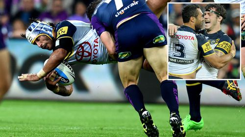 Thurston looks pretty deserving from this angle. (AAP)