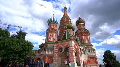 Russia exploring  Moscow, St Peterburg