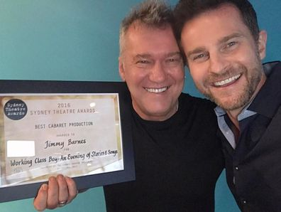 David Campbell and Jimmy Barnes