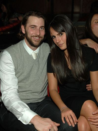 Actress Jordana Brewster and her husband Andrew Form attend the CatHouse grand opening party at Luxor Las Vegas on December 29, 2007 in Las Vegas, Nevada.