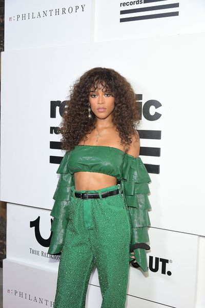 Serayah in Ashish at the VMA after party hosted by Republic Records
