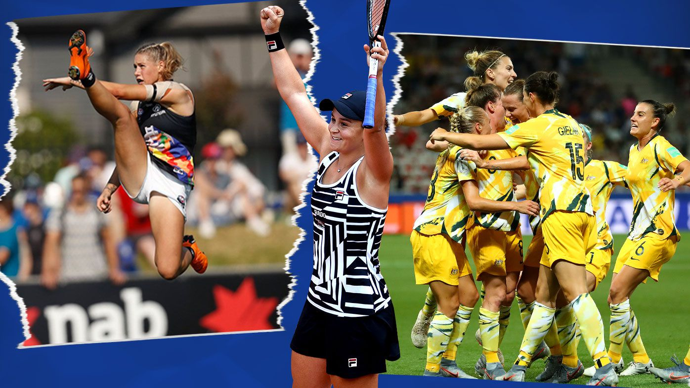 How women dominated the sports conversation in Australia in 2019