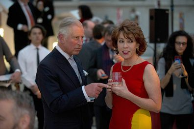Lette counts Charles and Camilla as friends.