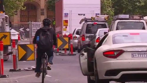 More than 200 cyclists have reported being hit in South Australia over the past five years. (9NEWS)