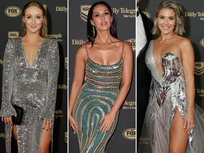 All the glamour from the 2019 Dally M Medal red carpet