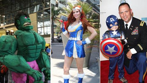Everyone wants to dress up as The Avengers for Halloween