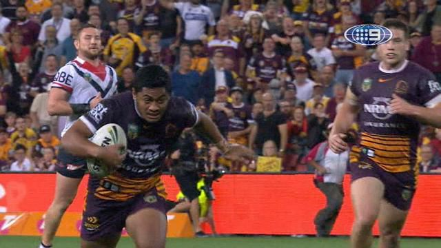 Broncos beat sloppy Roosters