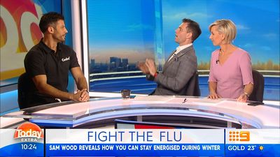 Sam Wood busts a big cold and flu myth: 'Don't be afraid to keep exercising'