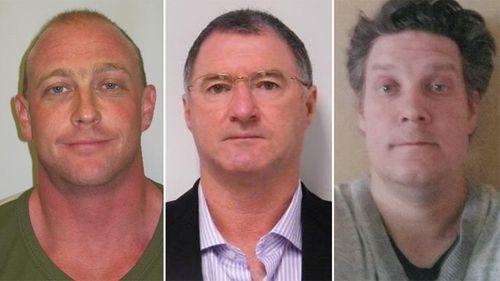 Arron Michael Blenkinsop, Graham Gene Porter and Jonathon Edward Dick.