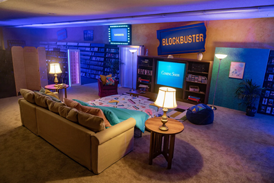 Airbnb teams up with last remaining Blockbuster for '90s experience