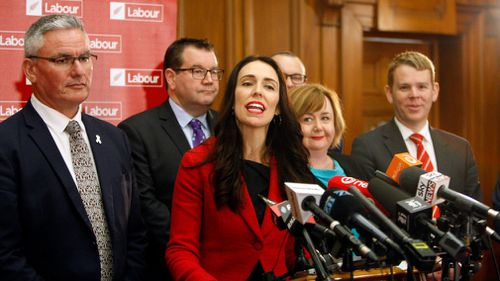 Ms Ardern was elected the leader of the Labour party yesterday. (AAP)