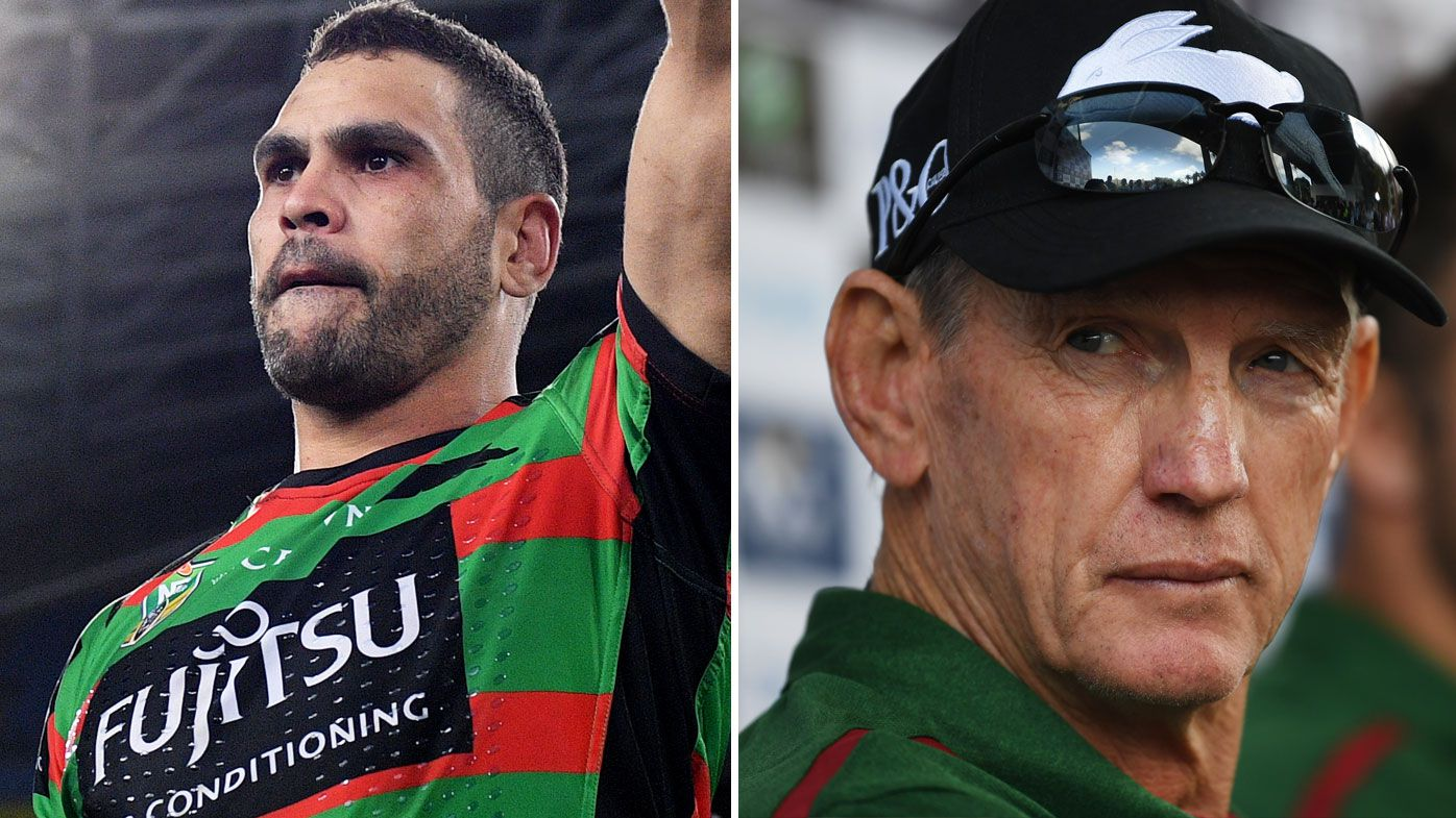 Greg Inglis and Wayne Bennett