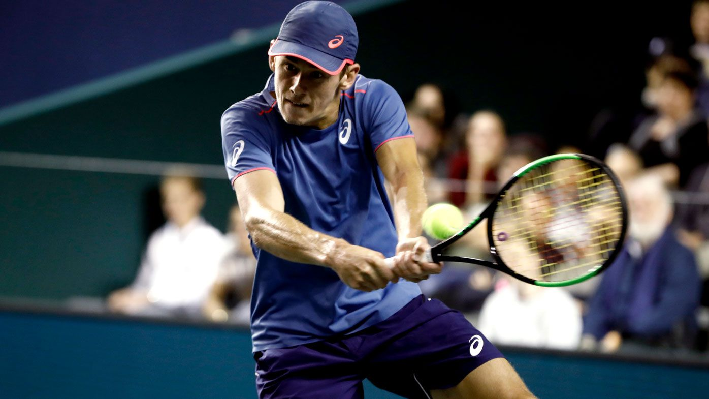 Tennis: Alex De Minaur stuns commentators with 'incredible' speed at Next Gen ATP Finals opener