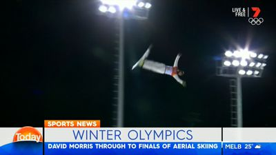 Winter Olympics: Aussie Davis Morris eyes aerials medal after making final