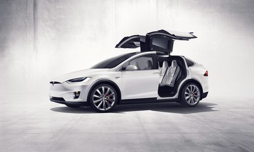 The Tesla Model X has been marketed as the safest SUV on the market. (AAP)