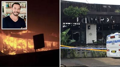 Workers left Silverchair bassist's bar an hour before raging inferno