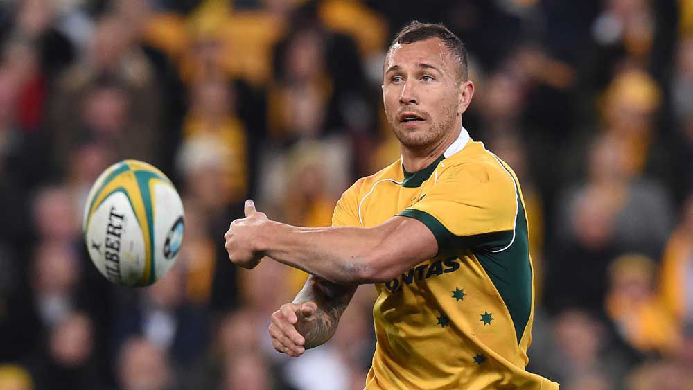 Quade Cooper. (Getty-file)