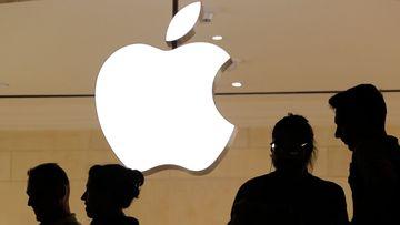 Apple's market value has taken a hit.