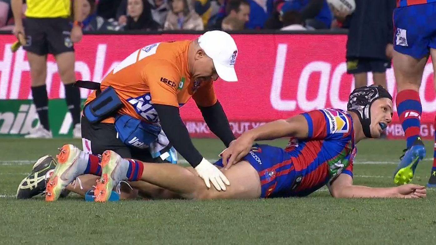 Ponga injured as Dogs break drought in NRL