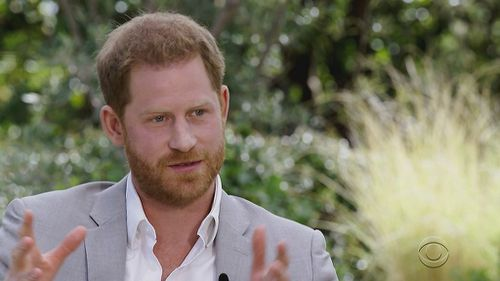 Prince Harry talks of feeling trapped