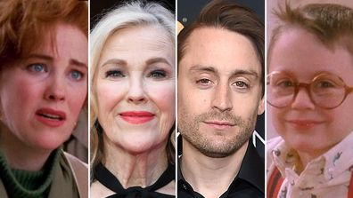 Home Alone cast.