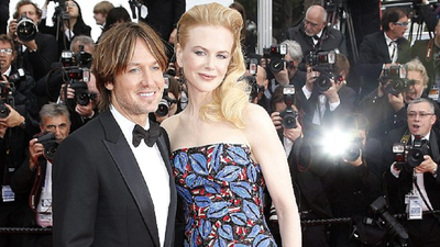 Nicole Kidman and husband Keith Urban attend a screening of 'Inside Llewyn Davis' at the Cannes film festival in 2013.
