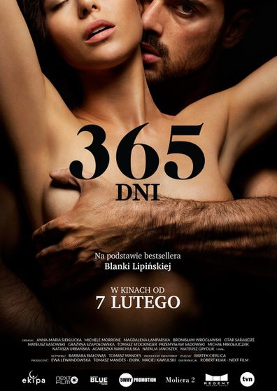 The movie poster for 365 Days