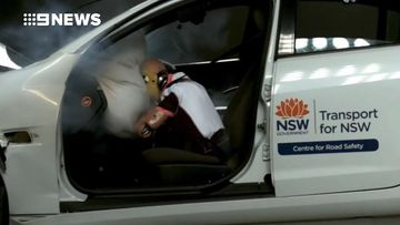 Crash testing reveals the hidden dangers of a long car trip