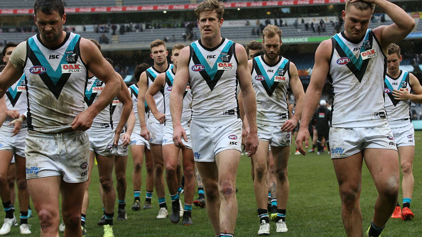 David King: Port Adelaide 'most disappointing side this year'