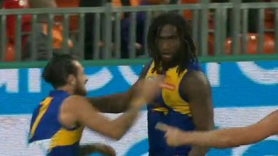 Eagles' Naitanui firming for AFL round one