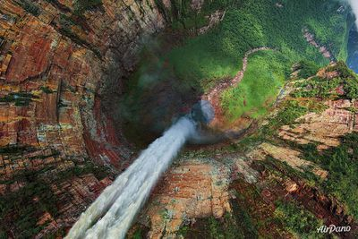 <strong>Churun-meru (Dragon) fall, Venezuela</strong>