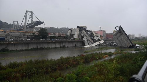 Dozens of people were killed when the bridge collapsed.